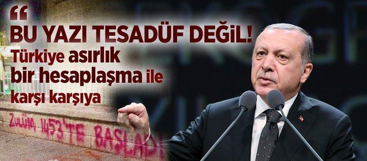 Erdoğan kirli planı açıkladı