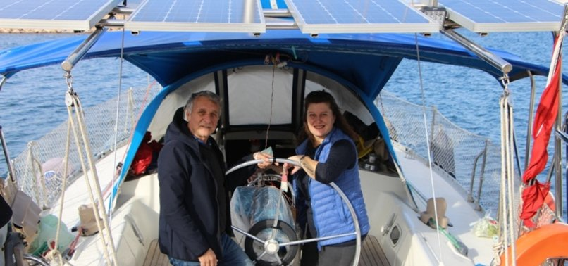 TURKISH COUPLE LIVES ON BOAT FOR 6 YEARS