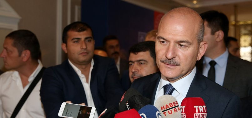 TURKEY WILL NOT TOLERATE TERRORISM, INTERIOR MINISTER SAYS