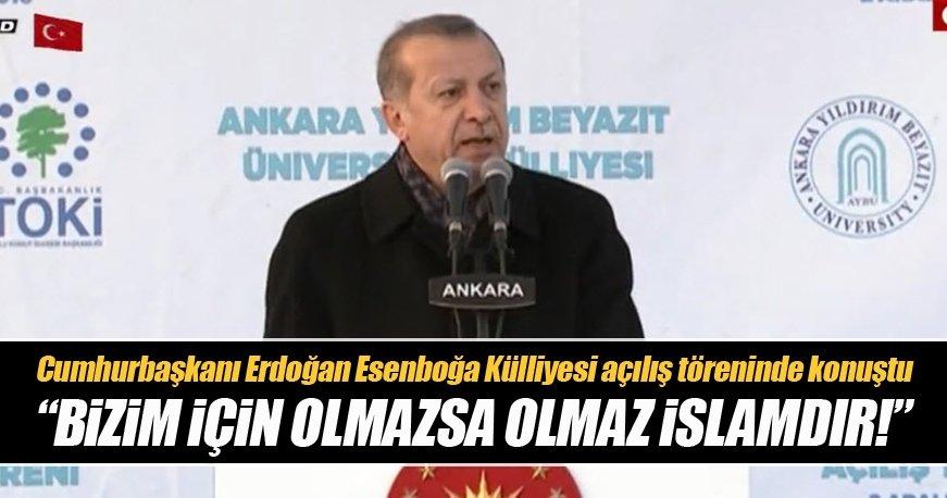 Erdoğan: Milletin iradesi ne isterse o olucaktır