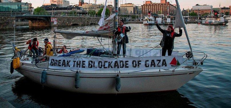 SWEDISH PRO-GAZA SHIP ACTIVISTS DEPORTED FROM ISRAEL
