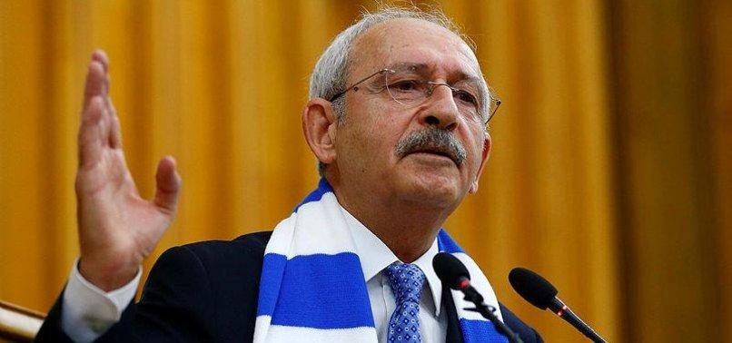 TURKEYS MAIN OPPOSITION LEADER BACKS AFRIN OPERATION