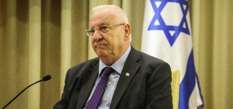 ISRAELS HEAD INVITES UAE CROWN PRINCE TO VISIT ISRAEL