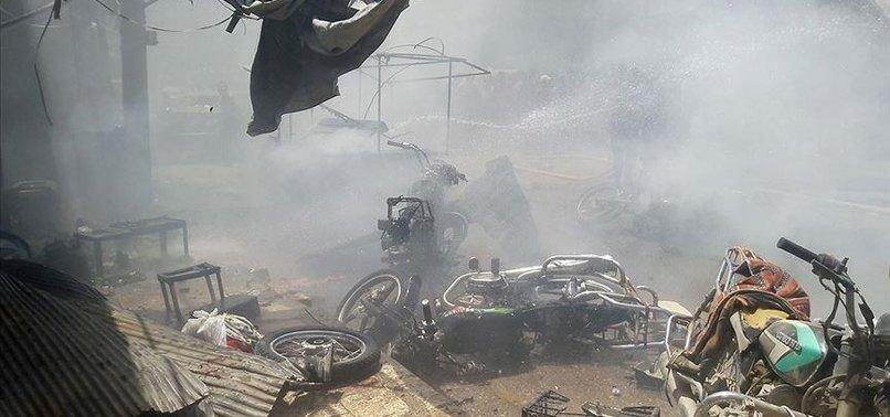 2 KILLED, 4 INJURED IN TERRORIST BOMB ATTACK IN SYRIA