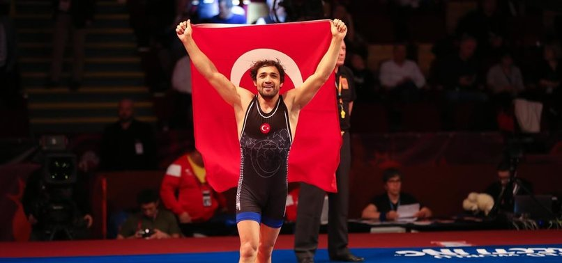 TURKISH WRESTLER YÜKSEL WINS GOLD IN EUROPEAN CHAMPIONSHIPS