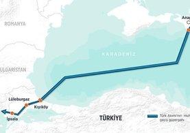 Rus enerji şirketi Gazprom'dan Türk Akımı'na 1.1 milyar lira!