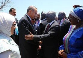 Cumhurbaşkanı Erdoğan Afrika'da!