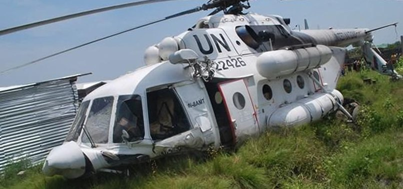 NIGERIAN PRESIDENT CONDEMNS ATTACK ON UN HELICOPTER