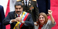 US sanctions Venezuela's first lady, officials close to Maduro