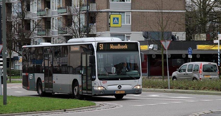 Hollandada toplu taşıma çalışanları grevde