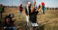 Palestinian who lost legs in 2008 clash dies in Gaza violence