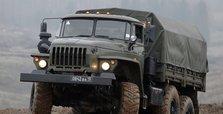Seized Armenian military vehicles on show in Azerbaijan