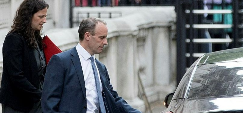 UK: DOMINIC RAAB APPOINTED NEW BREXIT SECRETARY