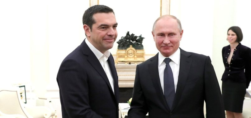TURKSTREAM COULD PASS THROUGH GREECE, PUTIN SAYS