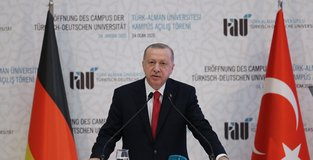 Turkish-German University symbol of friendship: Erdoğan