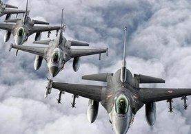 Hakkari'de tespit edillen PKK'lılar F-16 ile vuruldu