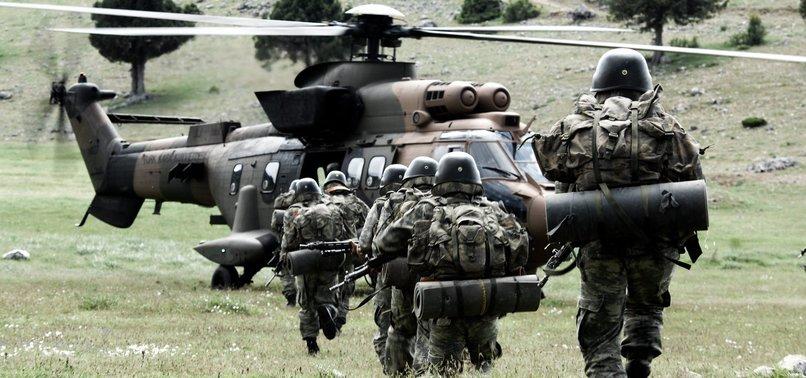 TURKISH MILITARY NEUTRALIZES 64 PKK TERRORISTS IN NORTHERN IRAQ OPERATION