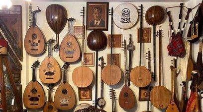Bu da enstrüman müzesi