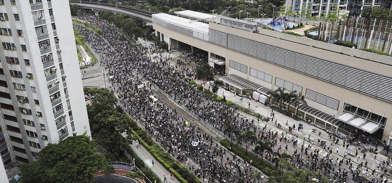 HONG KONG DEMONSTRATORS RESUME PROTESTS OVER EXTRADITION BILL