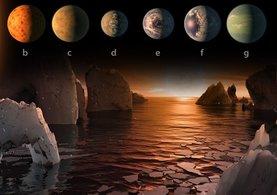 NASA açıkladı: Dünya'ya benzer, su ve canlılık barındırabilecek 7 gezegen bulundu