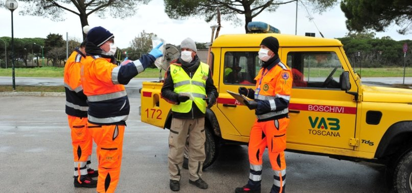 ITALY CORONAVIRUS DEATHS RISE BY 662 IN A DAY, LIFTING TOTAL DEATH TOLL TO 8,165