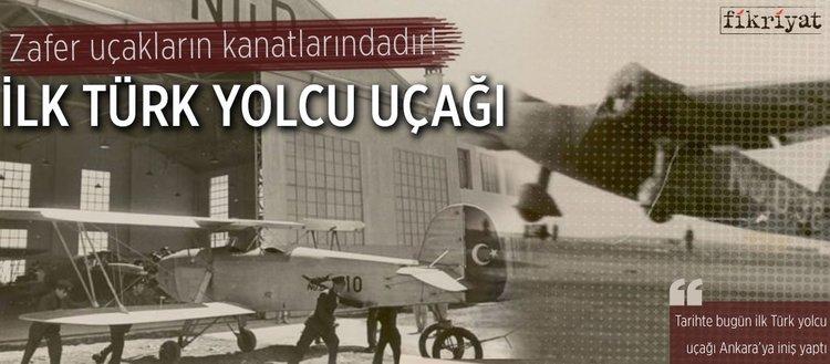 İlk Türk yolcu uçağı(26 Mayıs2018)
