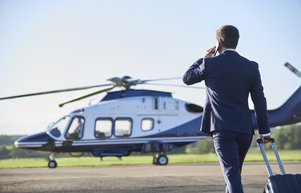 Özel helikoptere yoğun talep
