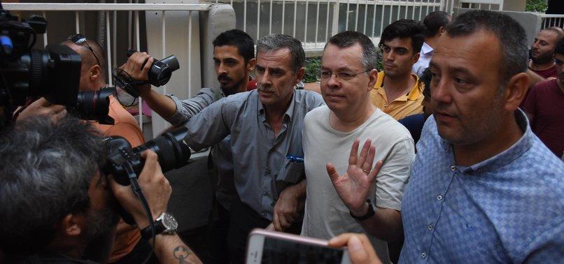 TURKISH PROSECUTOR CALLS FOR LIFTING OF JUDICIAL CONTROLS ON U.S. PASTOR