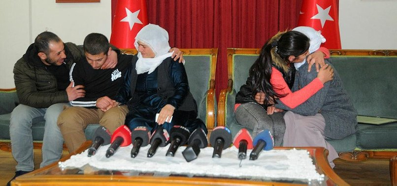 KURDISH FAMILIES REUNITE WITH PKK-KIDNAPPED CHILDREN