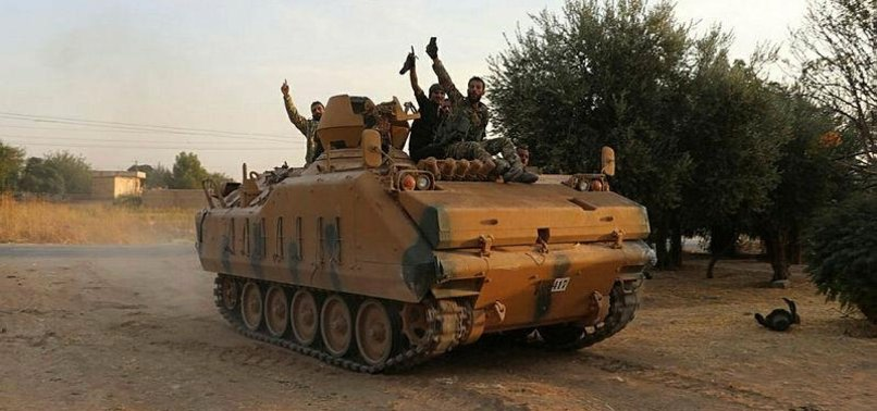 NEARLY 200 TERRORISTS KILLED IN TURKEYS CROSS-BORDER MILITARY OPERATION IN NORTHEASTERN SYRIA