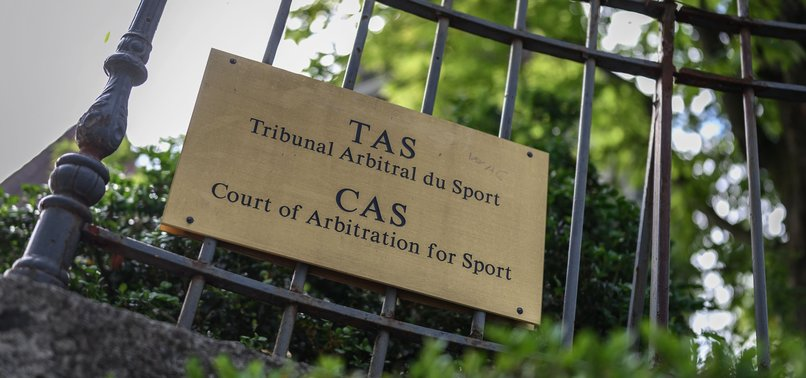 CAS REJECTS TRABZONSPORS OBJECTION AGAINST 1-YEAR BAN