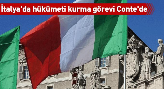 İtalyada hükümeti kurma görevi Contede