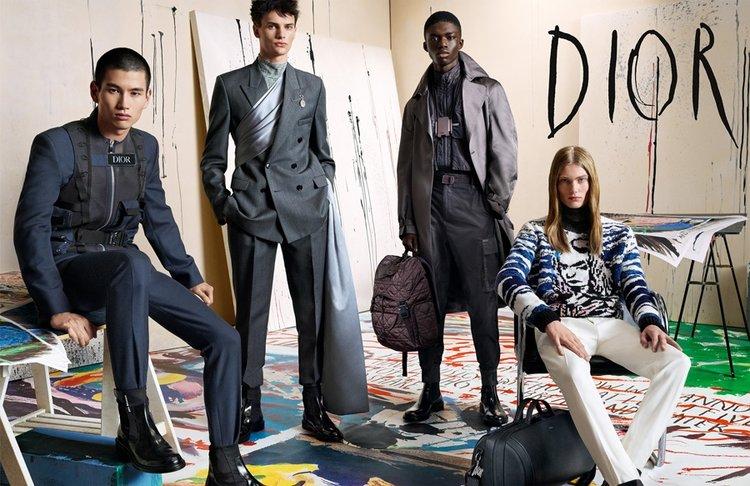 Dior Erkek 2019-2020 kampanyası