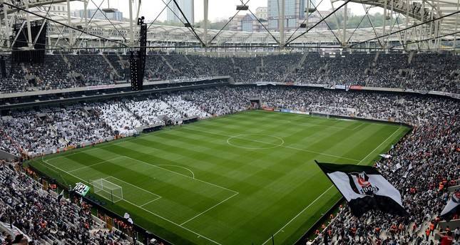 The first derby match after lifting ban will be played on Sept. 24 between Galatasaray and Beşiktaş in Beşiktaş's newly built stadium, named the Vodafone Arena in Istanbul. (İhlas News Agency Photo)