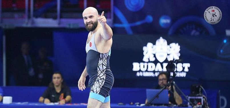 TURKISH WRESTLER BAGS SILVER IN WORLD CHAMPIONSHIP