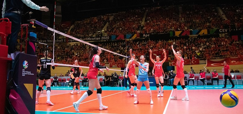 TURKISH WOMENS VOLLEYBALL TEAM QUALIFY FOR 2020 OLYMPICS