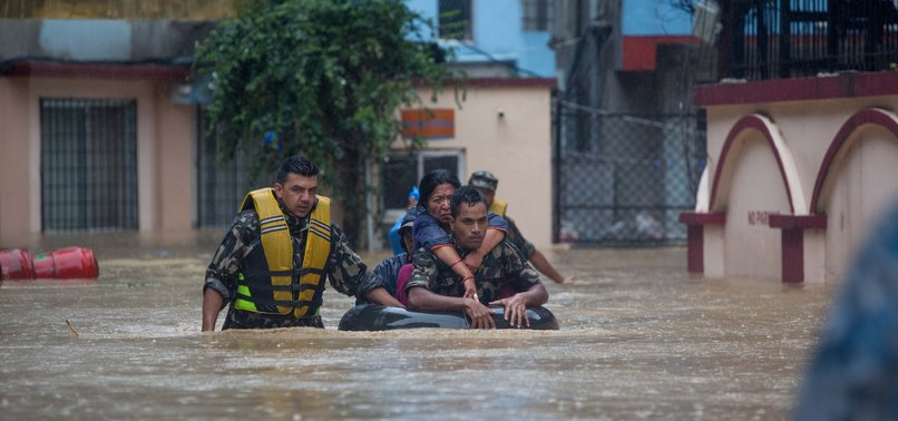 DOZENS DEAD AND MISSING AS MONSOON FLOODS, LANDSLIDES HIT NEPAL, NORTHEASTERN INDIA
