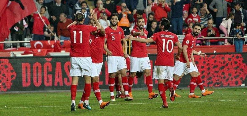 TURKEY TO FACE ALBANIA, MOLDOVA IN EURO 2020 QUALIFIERS