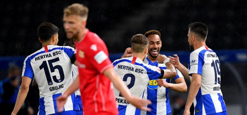 WITH NO FANS, DOMINANT HERTHA ROUT UNION 4-0 IN SUBDUED BERLIN DERBY