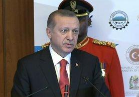Cumhurbaşkanı Erdoğan: Biz diyoruz ki...