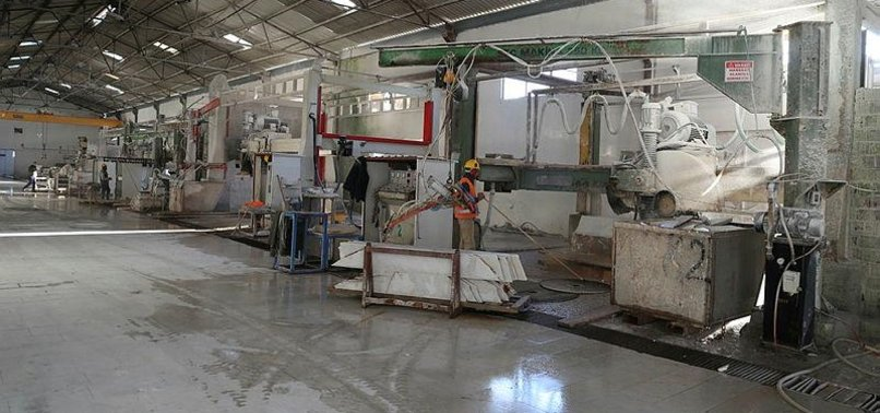TURKEYS AEGEAN CITY EXPORTS MARBLE TO 60 COUNTRIES