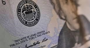 The seal of the Federal Reserve on a U.S. banknote. (FILE Photo)