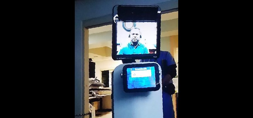 CALIFORNIA MAN LEARNS HES DYING FROM DOCTOR ON ROBOT VIDEO