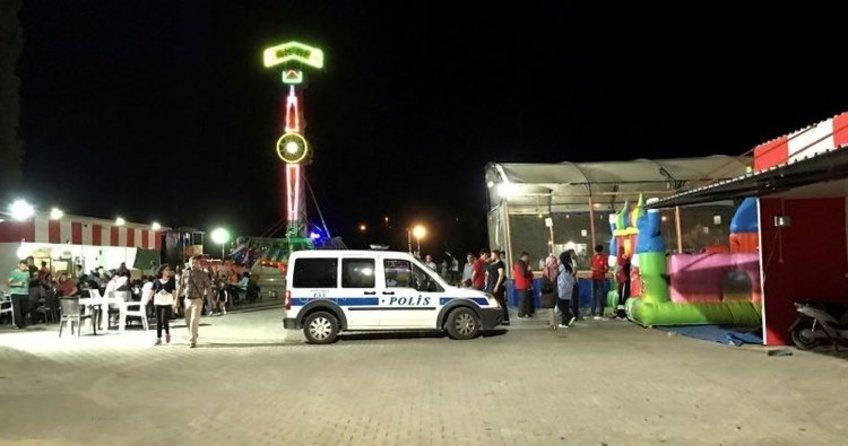 Kırşehir'de lunaparkta feci kaza!