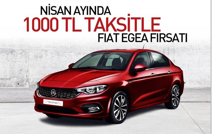 Nisan Ayında 1000 Tl Taksitle Fiat Egea Fırsatı Otohaber