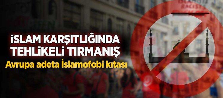 Avrupa'daki İslamofobik saldırılarda rekor artış
