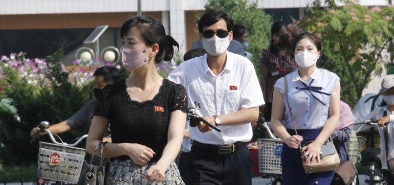 KIM URGES NORTH KOREANS TO KEEP UP VIRUS FIGHT