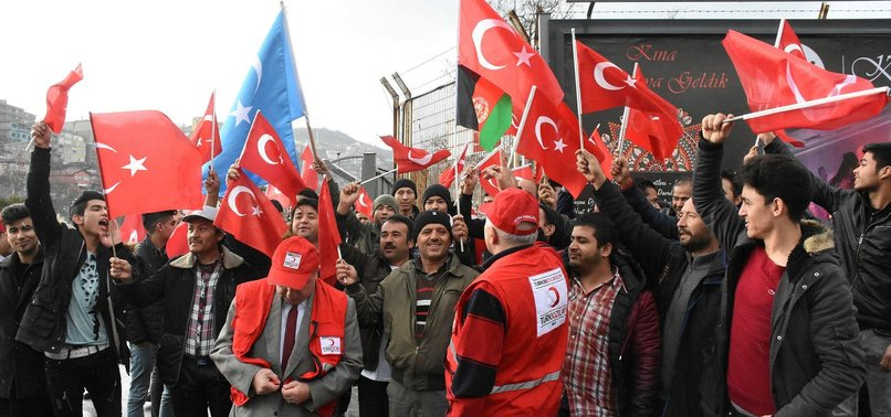 ASYLUM-SEEKERS IN TURKEY WANT TO TAKE PART IN TURKEYS AFRIN OPERATION