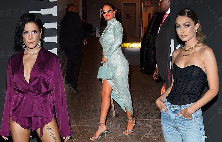 Rihanna'nın Savage x Fenty defilesinde dikkat çeken stiller