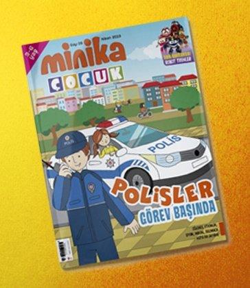 01.04.2019 Minika Çocuk Dergi - Sayı: 28